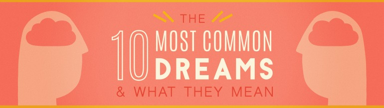 10 most common dreams