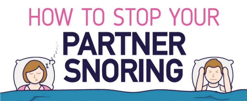 Snippet from snoring infographic