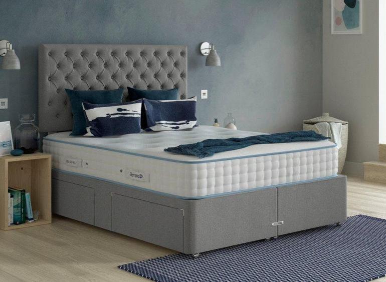 Ash Divan Space Saving Bed