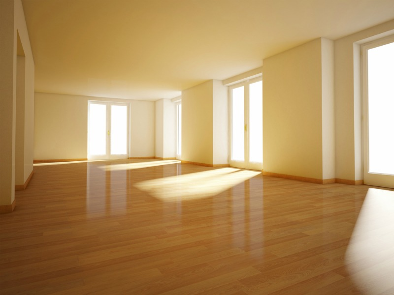 An image of a clean and empty house