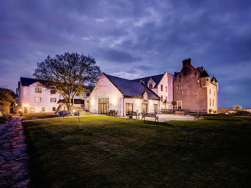An image of Ballygally Castle Hotel - Haunted Houses