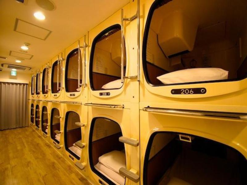 An image of the Capsule Hotel