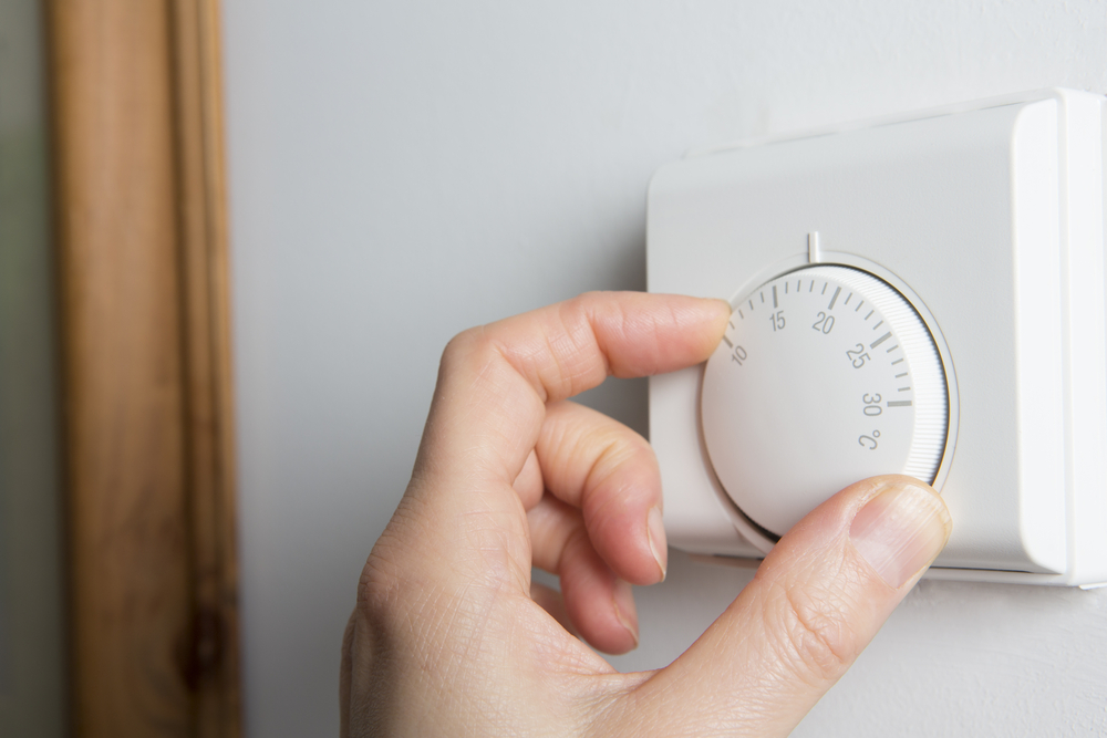 changing heating control for night sweats