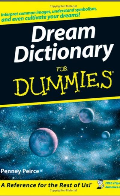 dream dictionary for dummies book