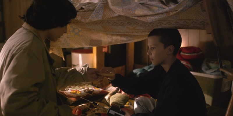 An image showing Eleven's bedroom
