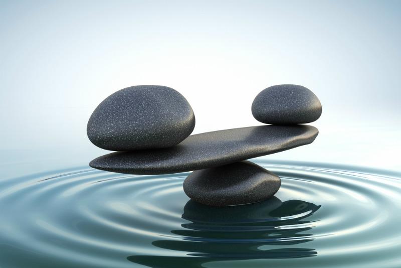 Feng Shui Bedroom Tips - Stones in water balancing