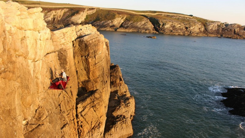 An image of Gaia Adventures' Cliff Camping