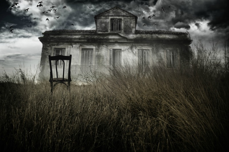 image of haunted hill house