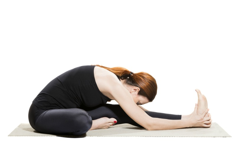 An image showing the head to knee pose