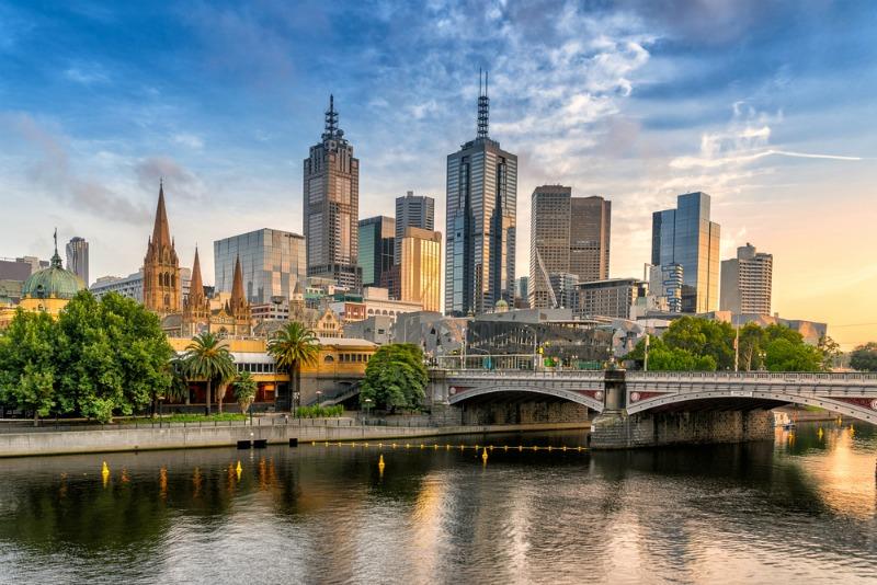 Image of Melbourne skyline