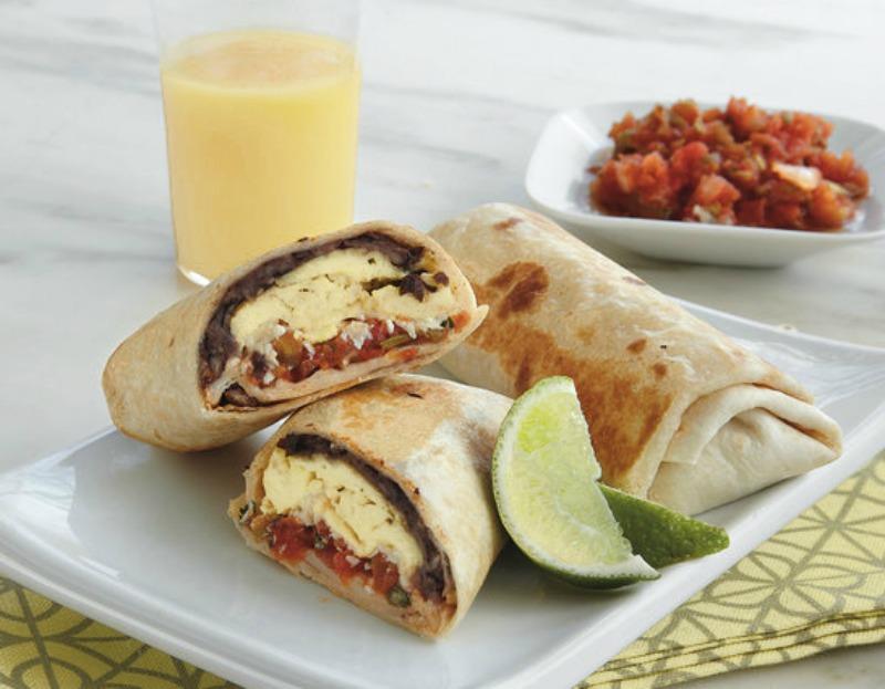 Mexican Breakfast Burritos - healthy breakfast