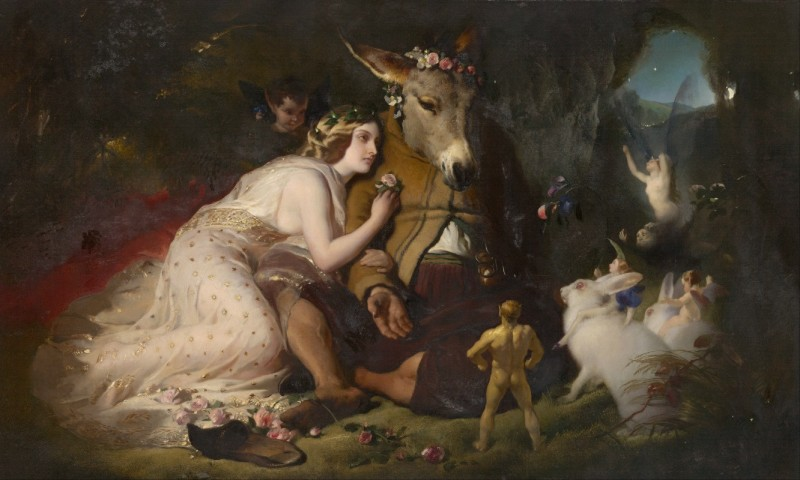 Image from A Midsummer's Night's Dream, important dreams in literature