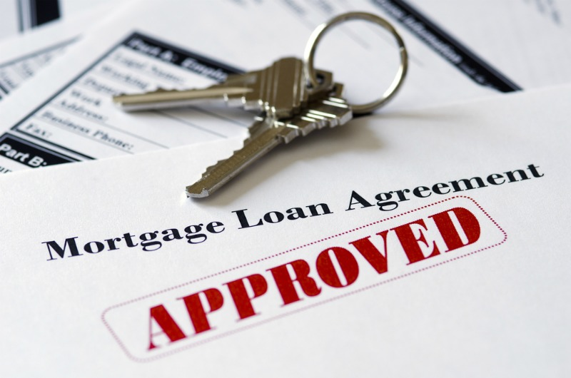 image of getting a mortgage to buy a house