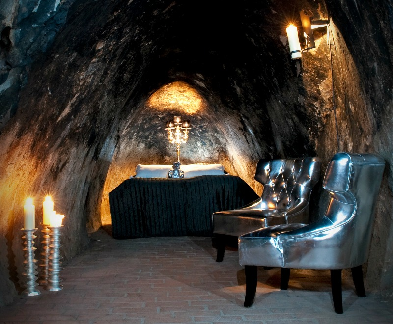 An image of the Sala Silvermine Underground Suite
