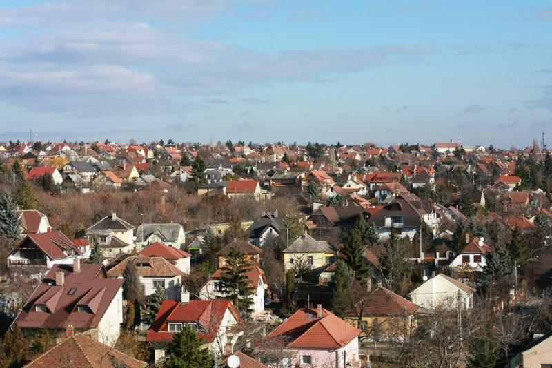 image of suburban houses