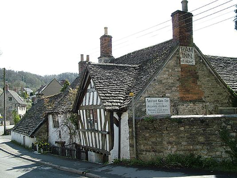 An image of the The Ancient Ram Inn - Haunted Houses
