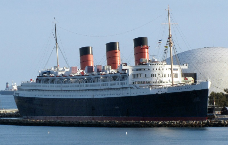 An image showing the Queen Mary, California - Haunted Houses