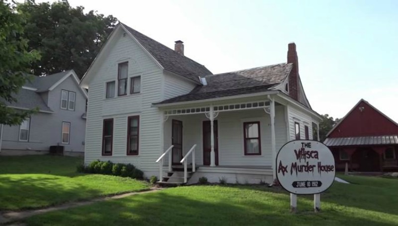 An image showing the Villisca Axe Murder House - Haunted Houses