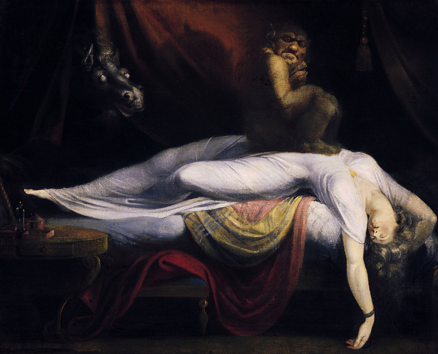 Sleep paralysis - Image of The Nightmare
