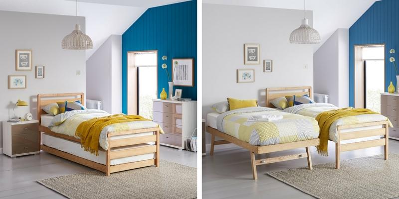 Woodstock Wooden Bed Frame & Guest Bed