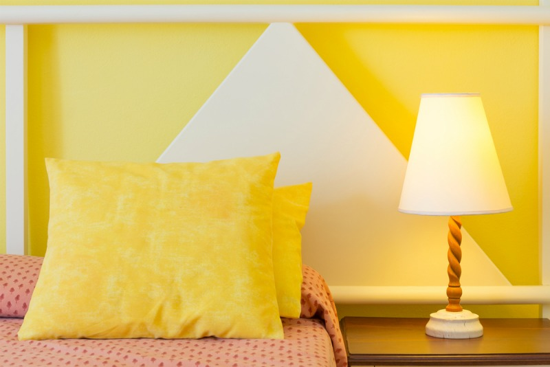 An image of yellow pillows