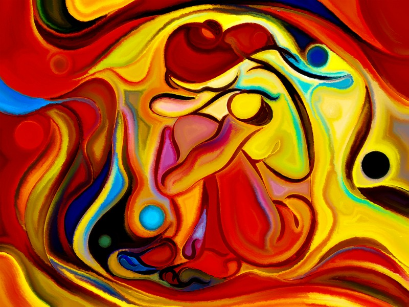 Abstract dream image demonstrating the symbolism of dreams