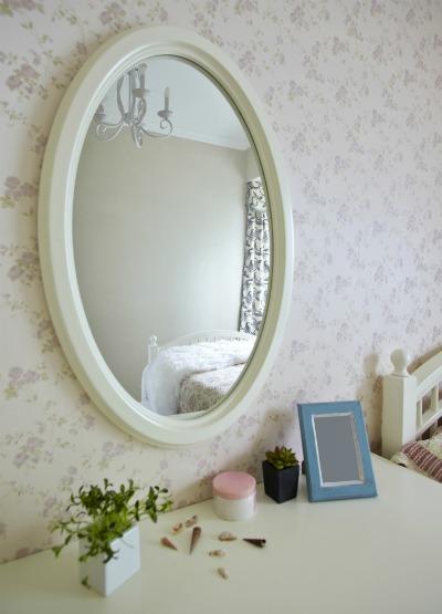 Mirror in a bedroom