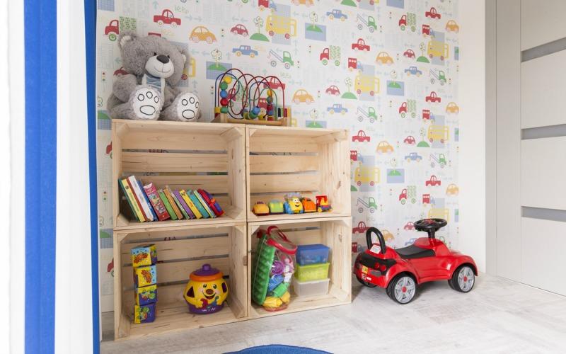 Car themed kids bedroom