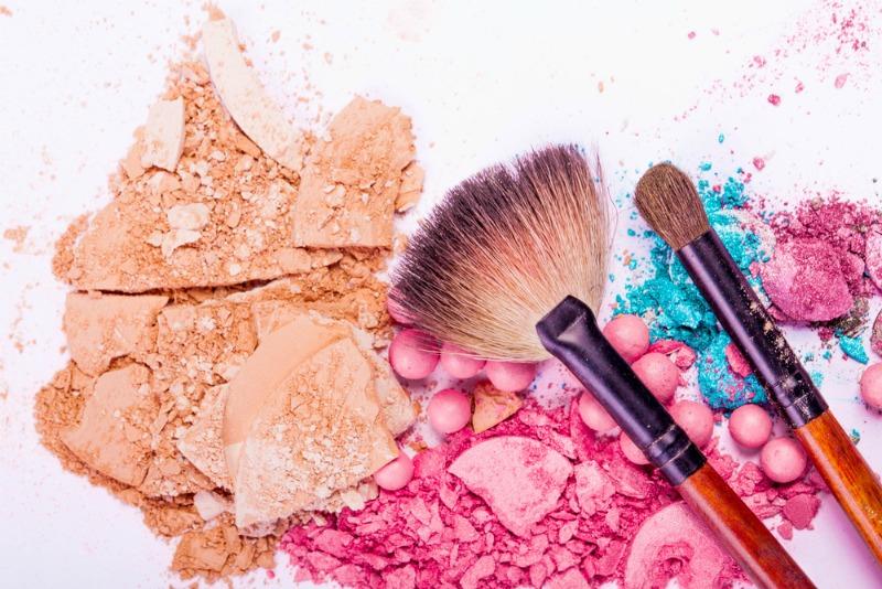 An image showing crushed make-up