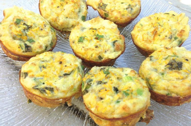 Cupcake Frittatas - healthy breakfast