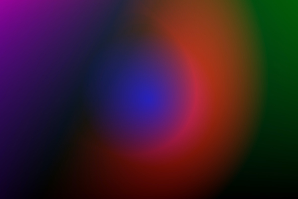 image of abstract colours to show light therapy for sleep