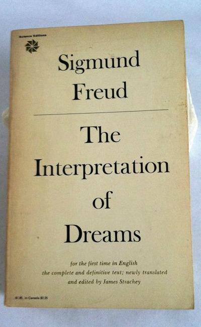 interpretation of dreams book cover