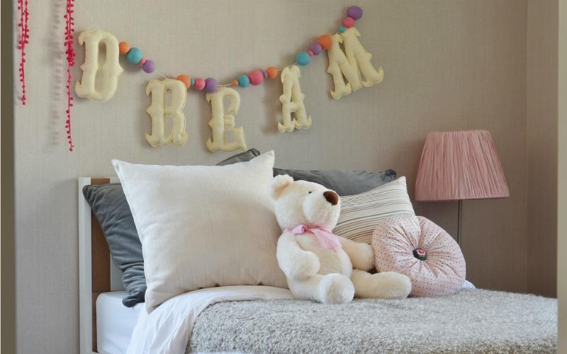 Kids bedroom in styled design