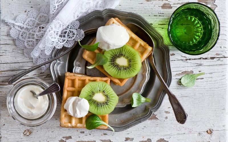 Whole-Grain Waffles - healthy breakfast