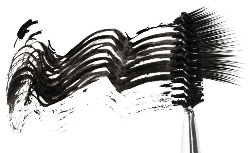 An image of a mascara smudge