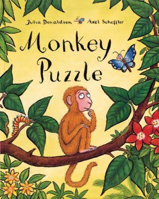 Monkey Puzzle by Julia Donaldson - bedtime stories for babies