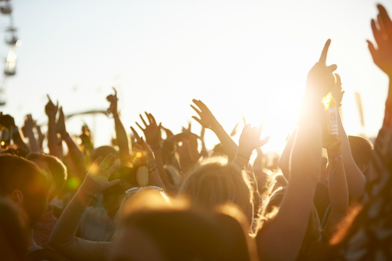 Days are long at music festivals, so make sure you get a good night's sleep