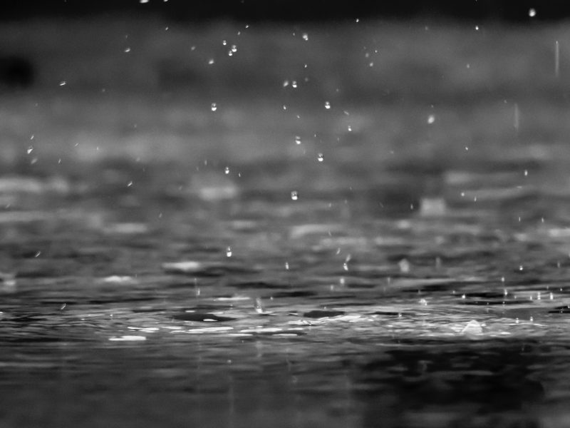 image of rain to show its use a sound for sleep