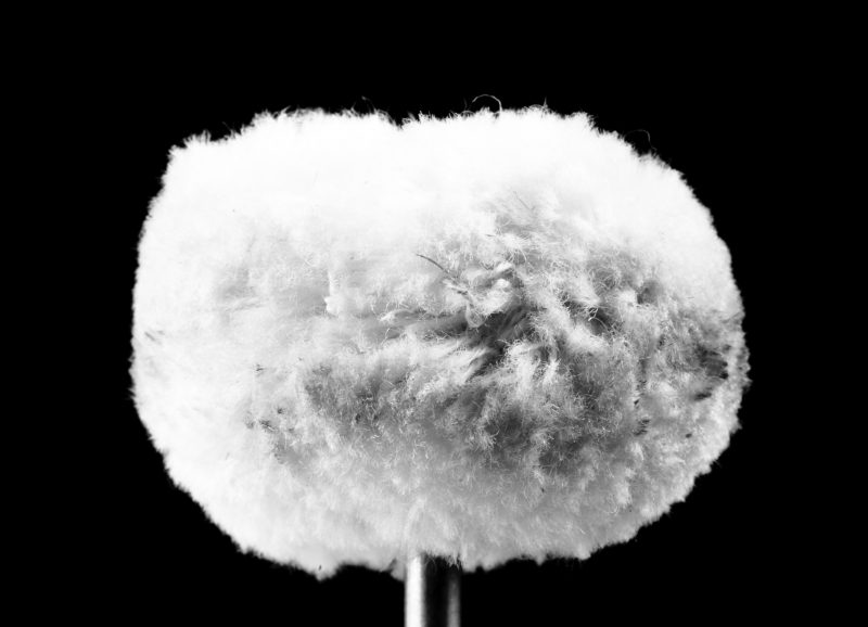 image of white noise microphone for sleep sounds