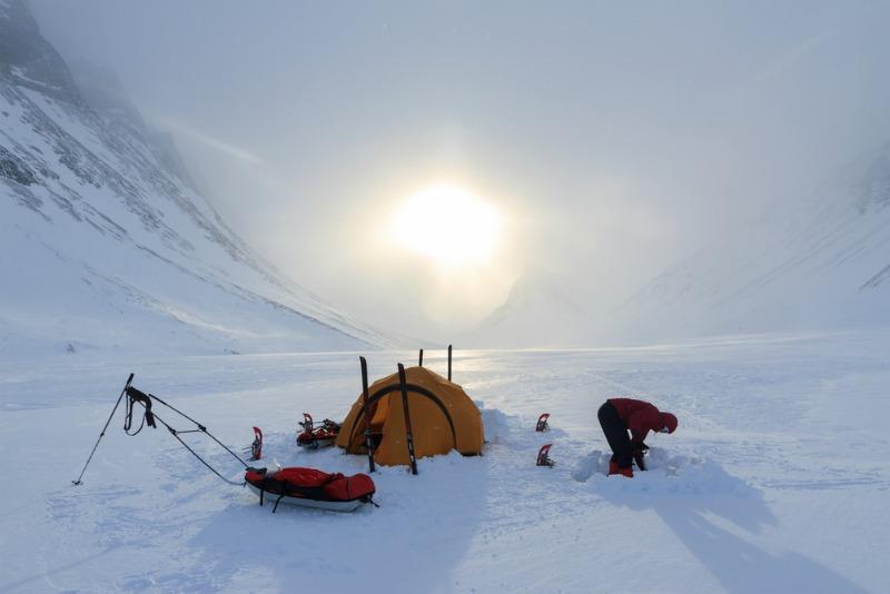 Sleeping in the Arctic