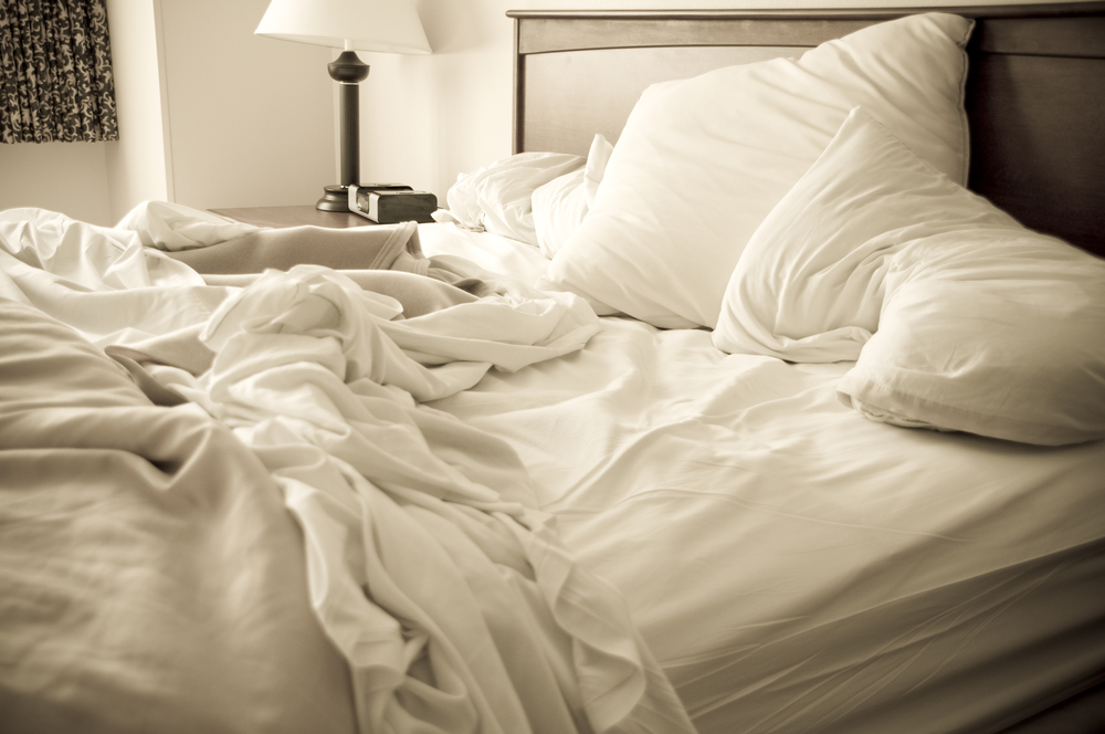 Clean up after yourself to be a good house guest via Sleep Matters Club