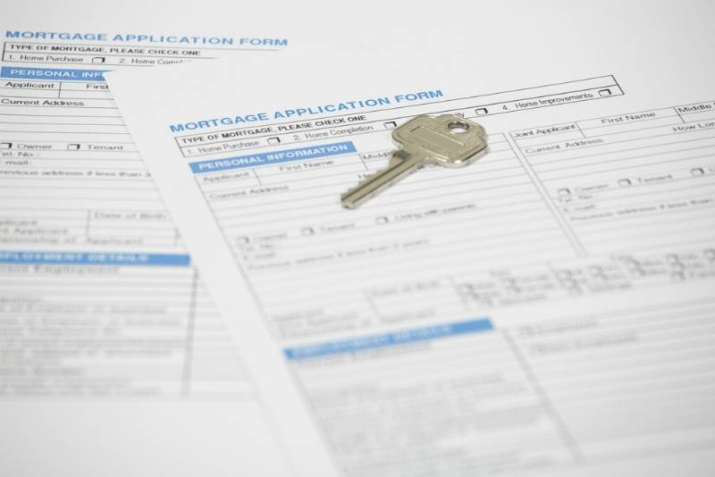 Image of mortgage application papers