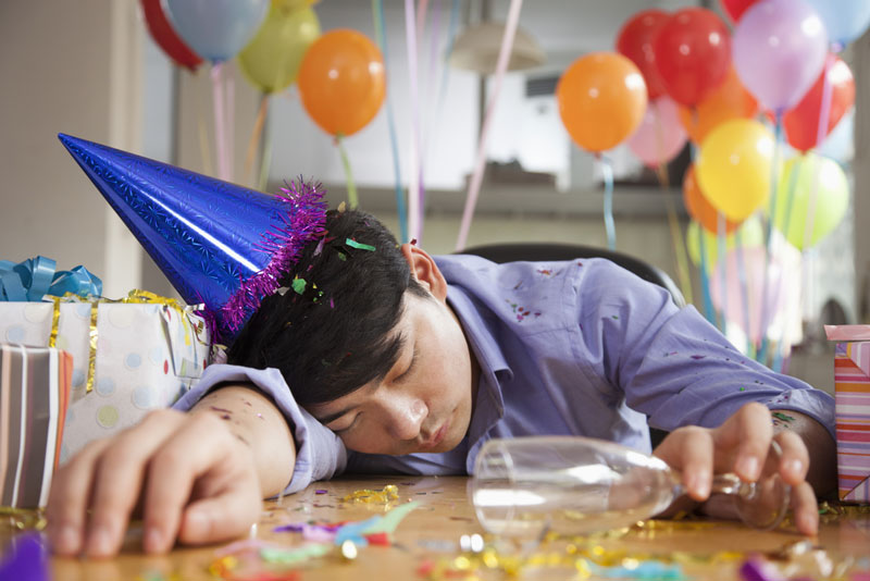Notice that you have bad sleep after a party? Read why at The Sleep Matters Club.