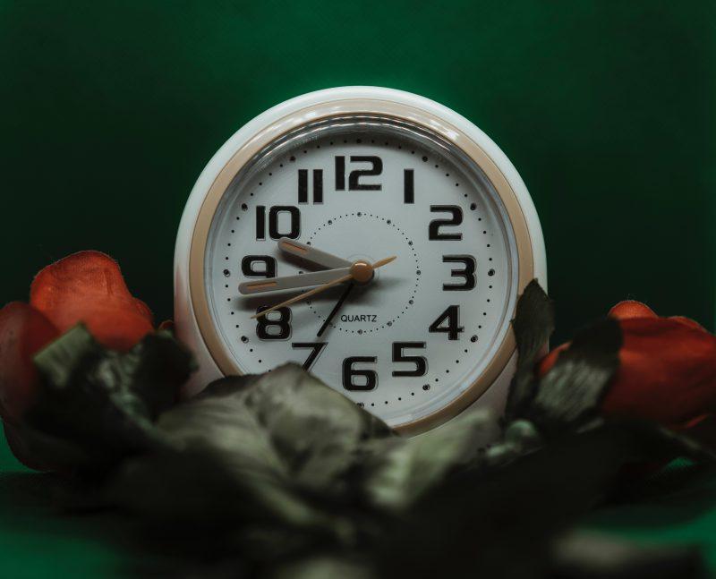 clock to show circadian rhythm for sleep