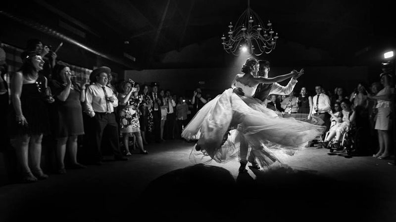 Wedding photo by Valentin Gamiz.