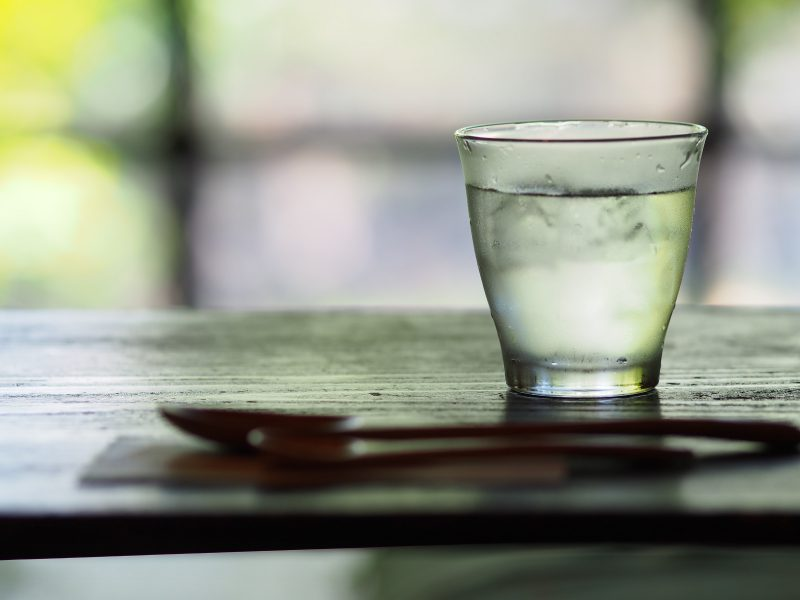 glass of water to show benefits of drinking water in day